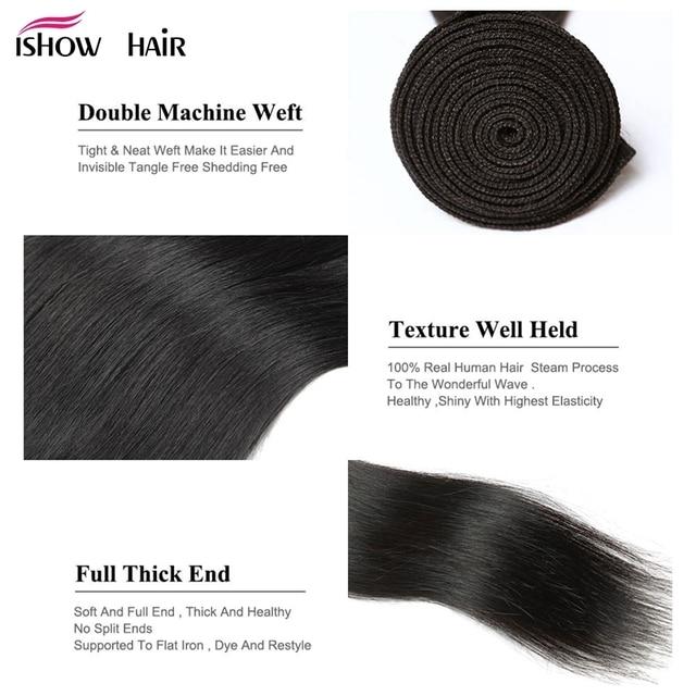 Straight Hair Weave 3