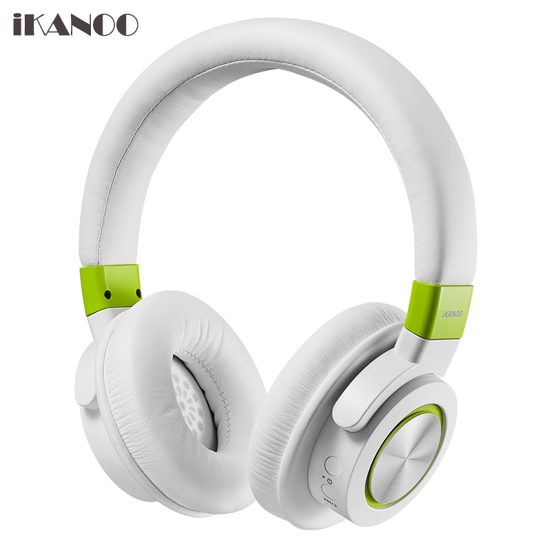 iKANOO Wireless Bluetooth Headphones 500mah 240hours Stereo Handsfree Headset For Phone Computer Girls Boy Wired Music Headphone ikanoo f99 portable bluetooth v3 0 stereo mp3 speaker for smartphone tablets black silver