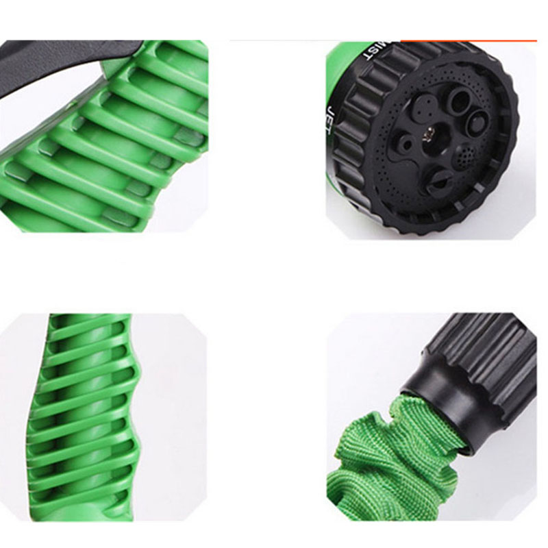 Hot Magic Garden Water Hose Flexible Hose Expandable Garden Hose Reel Truck Watering Connector Blue Green 25 150FT in Garden Hoses Reels from Home Garden