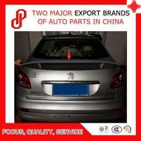 ABS primer unpainted color rear trunk spoiler for Peugeot 207 2008 2009 2010 2011 2012 2013 2014