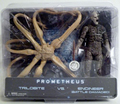 NECA Action Figure Model Toys Reel Prometheus Trilobite VS. Engineer Bnip Model Gifts Toys For Children Collections