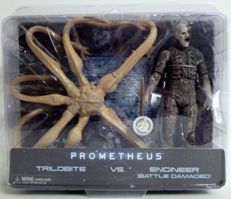 New  Action Figure Model Toys Reel Prometheus Trilobite VS. Engineer Bnip Model Gifts Toys For Children Collections масло domix green professional avocado nail oil 17 мл