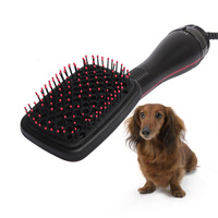 2 in 1 Pet Dry Hair Comb High Quality Portable Grooming Machine Anion Wind Dryer Dog Cat Massager Repair Hair