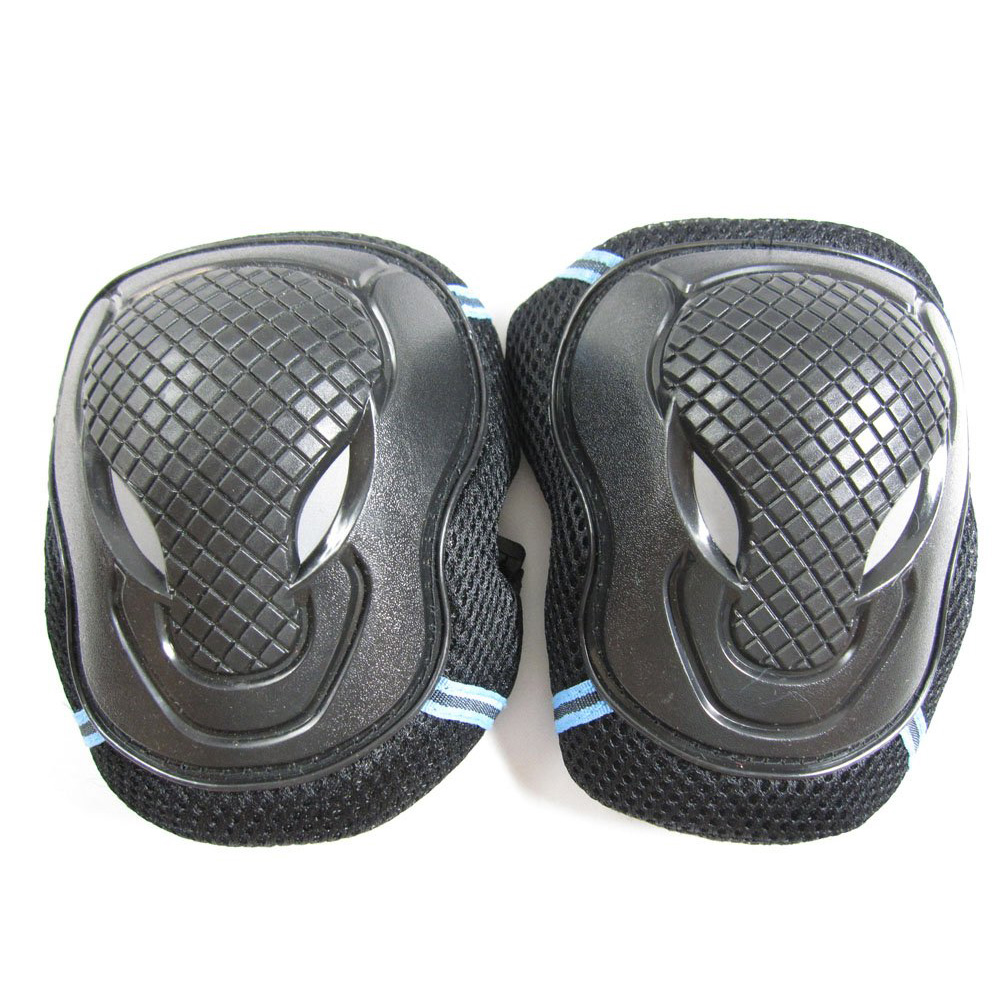 Roller Skates Skateboarding Skiing Wrist Knee Elbow Protector Set Adult Kids KneePads Protection 6 in1 Set Sports Safety Guard S