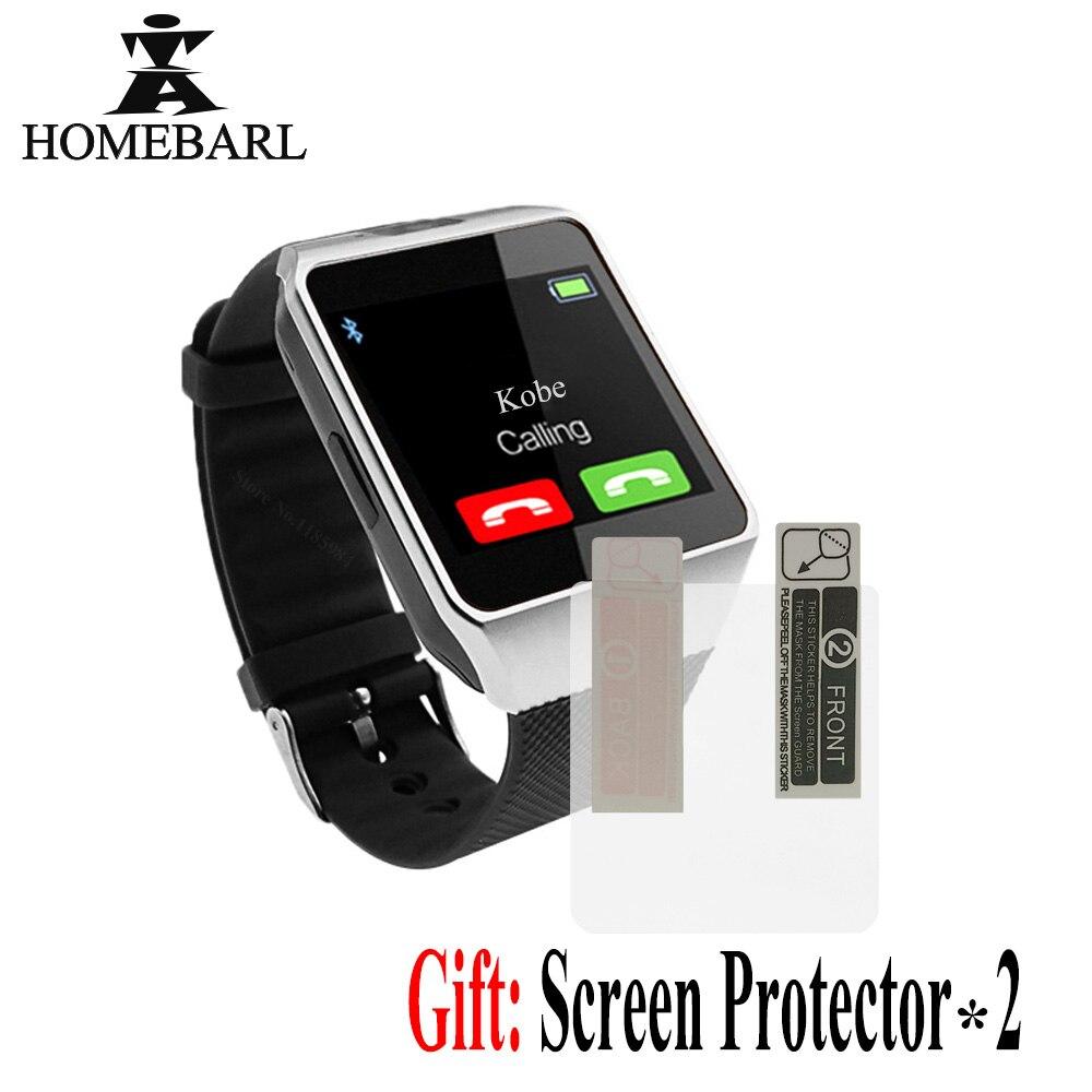 Bluetooth Smart Uhr Smartwatch DZ09 Android Anruf 2g GSM SIM TF Karte Kamera Für iPhone Samsung Huawei PK GT08 A1 Y1 Q18