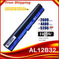 4 Cells 14.8V  Laptop Battery for Acer Aspire One 725 AO725 756 OA756 4ICR17/65AL12X32 AL12A31 AL12B31 AL12B32