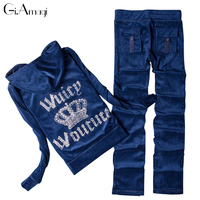 Women Autumn Winter Sets 2015 Casual Sequin Fashion 2 Piece Clothing Set Sportswear Tracksuits Long Sleeve
