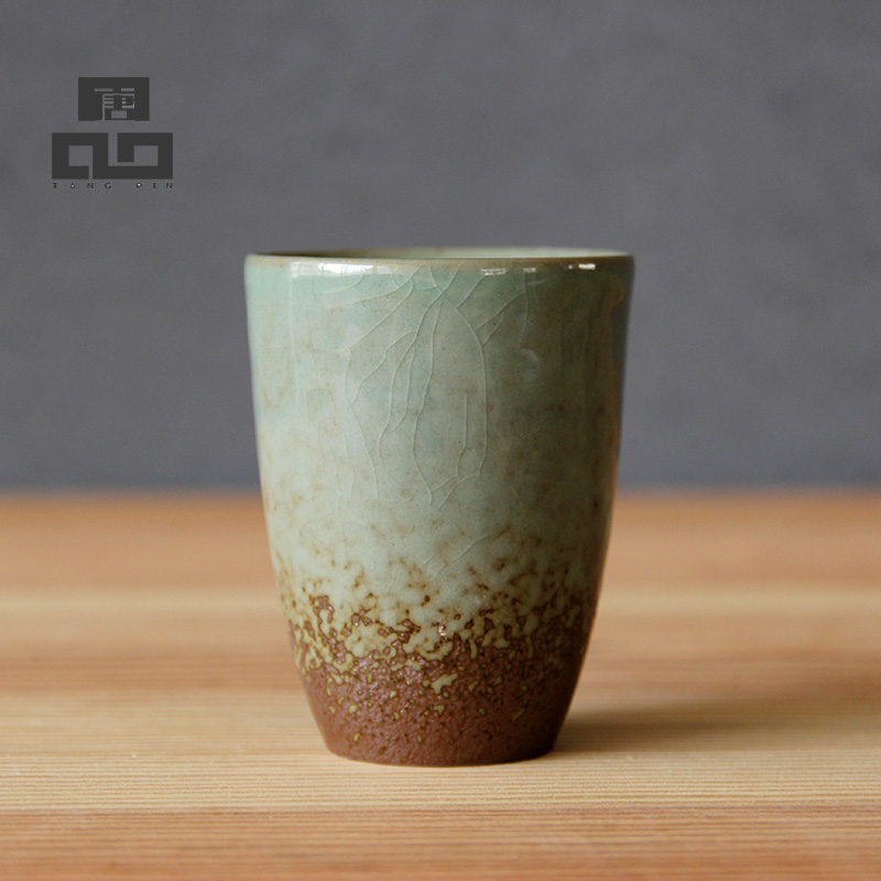 Drinkware <font><b>Cups</b></font> & Saucers,Japanese Style Vintage Ceramic Teacup,Travel Tea <font><b>Cup</b></font> for Tea,Chinese Kung Fu <font><b>Cup</b></font>