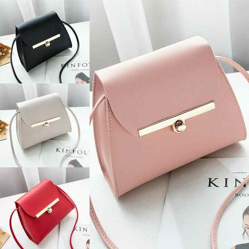 Fashion Women Handbag Buckle Small Tote Bag Ladies Crossbody Messenger Bag Luxury Women Bags Mini Coin Purse