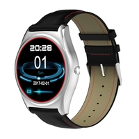 Smart Watch Heart Rate Monitor MT2502C 1 3 Touch Screen Bluetooth Wristwatch Wireless Charging Call Remind