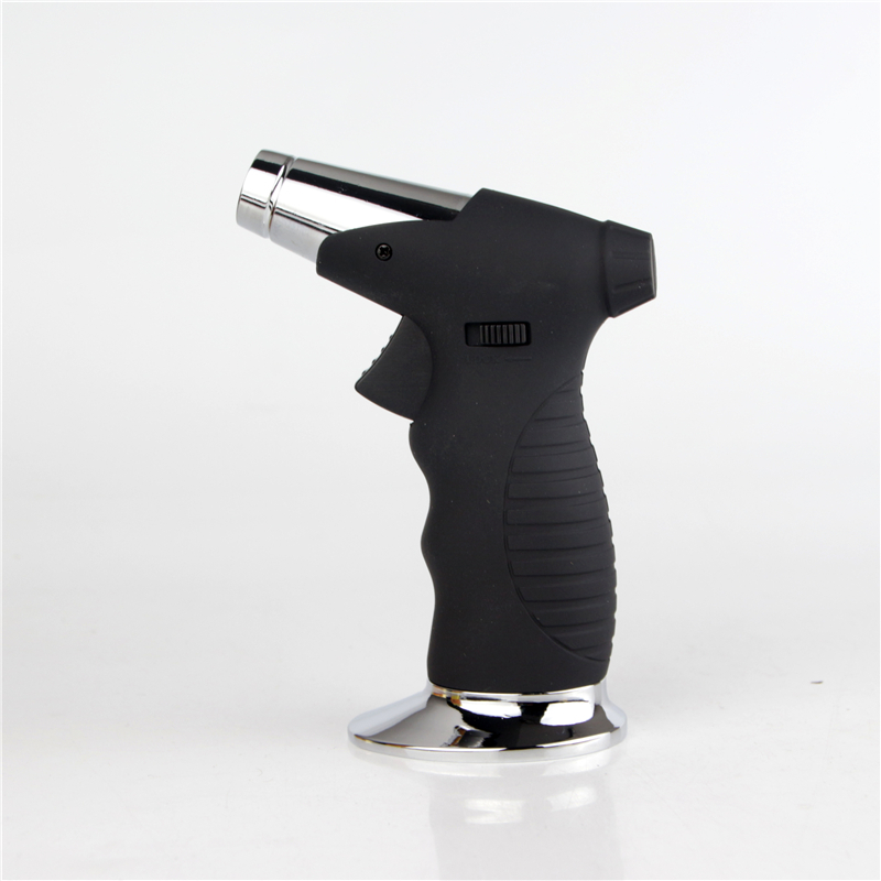Free shipping Barbecue ignition lighter Recycling refillable elbow Ignition Butane torch gas lighters