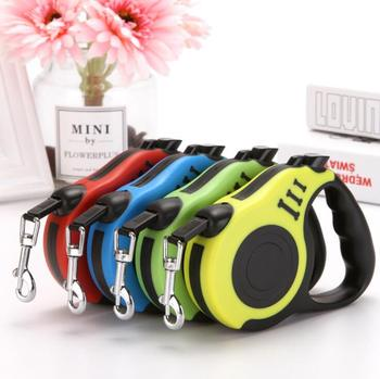3M/5M Retractable Dog Leash Automatic Flexible Dog Puppy Cat Traction Rope Belt Dog Leash for Small Medium Dogs Pet Products 1