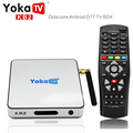 Yokatv KB2 S912 Android 6.0 Caixa de TV Amlogic Octa núcleo 2 GB 32 GB Set Top Box Wifi Bluetooth 4.0 1000 M LAN H.265 4 K 2 K Mídia jogador