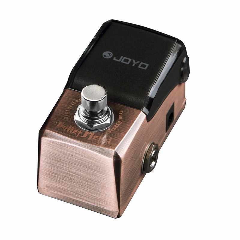 JOYO JF-321 رصاصة المعادن تشويه تأثير الغيتار الدواسة المعالج الضوضاء بوابة صحيح الالتفافية تأثيرات الكهربائية الغيتار الاكسسوارات