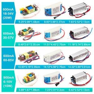 Image 5 - LED 드라이버 1W 3W 5W 10W 20W 30W 36W 50W 100W 300mA 600mA 900mA 1500mA 방수 조명 트랜스 포 머 DIY 램프 전원 공급 장치