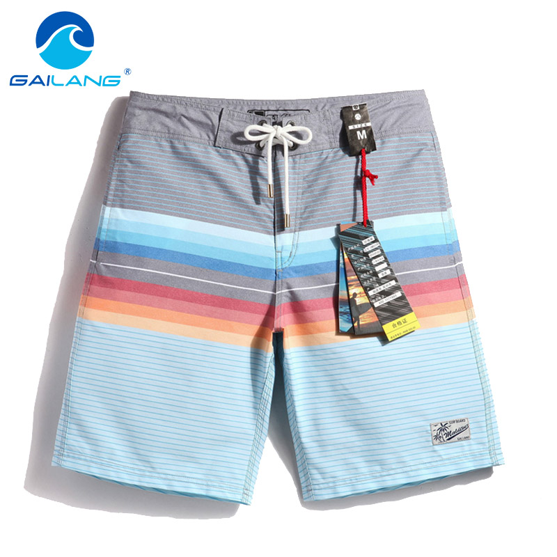Gailang Brand Men's Swimwear Swimsuits Boxers Trunks Gay Men Bermuda Beach Board Shorts Quick Drying Shorts