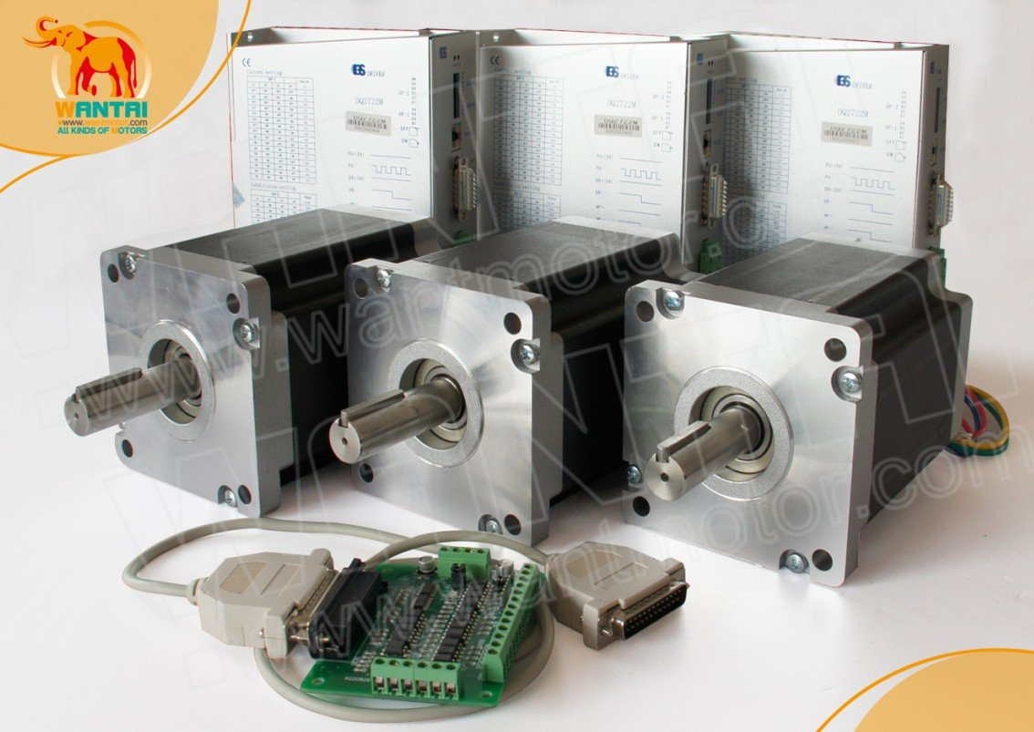 High Quality 3 Axis Nema 42 Stepper Motor 4200oz-in, 8A CNC bipolar & 110-220VAC Driver Mill Control скейтборды penny комплект лонгборд original 22 ss