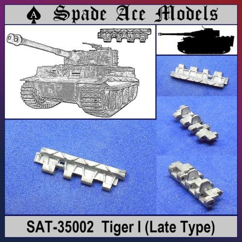 Spade Ace 1 35 35002 Metal Track Tiger I Late Type