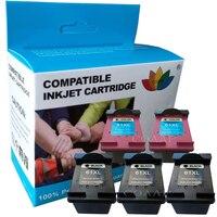 Сменные картриджи HP 61 XL заправленные чернилами hp61 черный и цвет для Deskjet 1000 1050 3000 3050 ENVY 4500 4501 4502 4504 5530