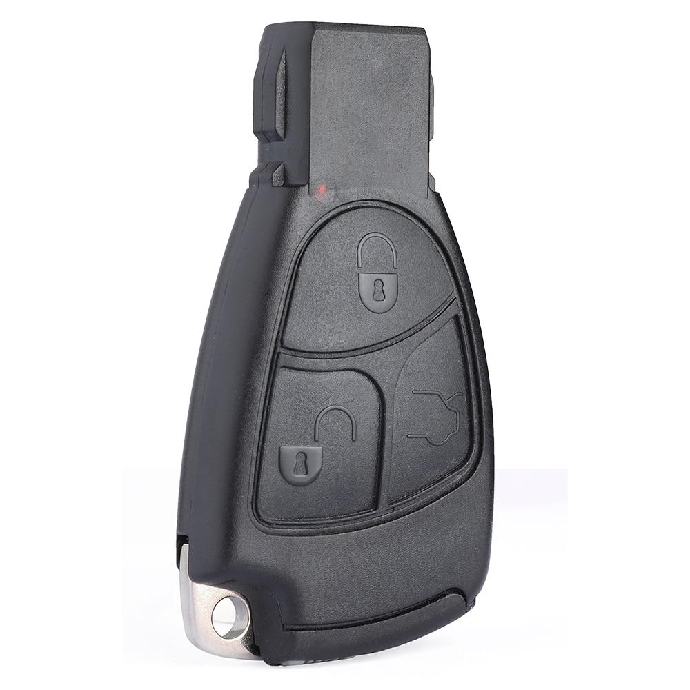 KEYCU for Mercedes-Benz C CL CLK CLS E ML S SLK Remote Car Key Shell Case Fob Housing Cover 3 Button
