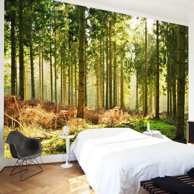 Neue Design Textur Tapete Schöne Wald Sonnenschein Natur Landschaft ...