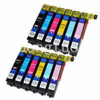 10X cartucho de tinta Compatible T2431 a T2426 24XL para la expresión foto XP-55 XP760 XP850 XP860 XP-950 XP-750 impresora de inyección de tinta