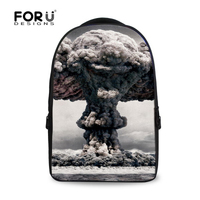 Korean Style 17 Inch Printing Laptop Computer Notebook Mc Backpack For Men Brand Women Outdoor Travel