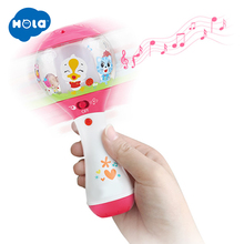 HOLA 3125 Baby Musical Rattle Handbells Hand Bells Toy For 0-12 Months Newborns Early Educational Toys for Children
