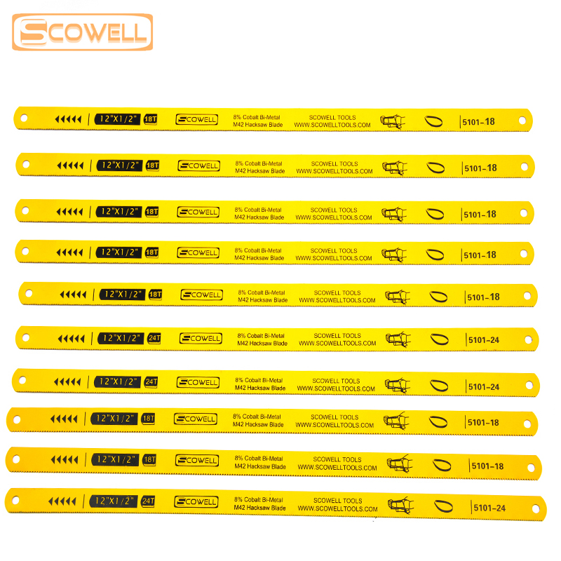 30% Off SCOWELL Flexible HSS Bi-metal M42 8% Cobalt 12