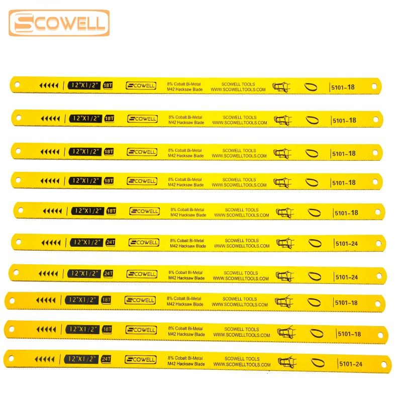 30% Off SCOWELL Flexible HSS Bi-metal M42 8% Cobalt 12