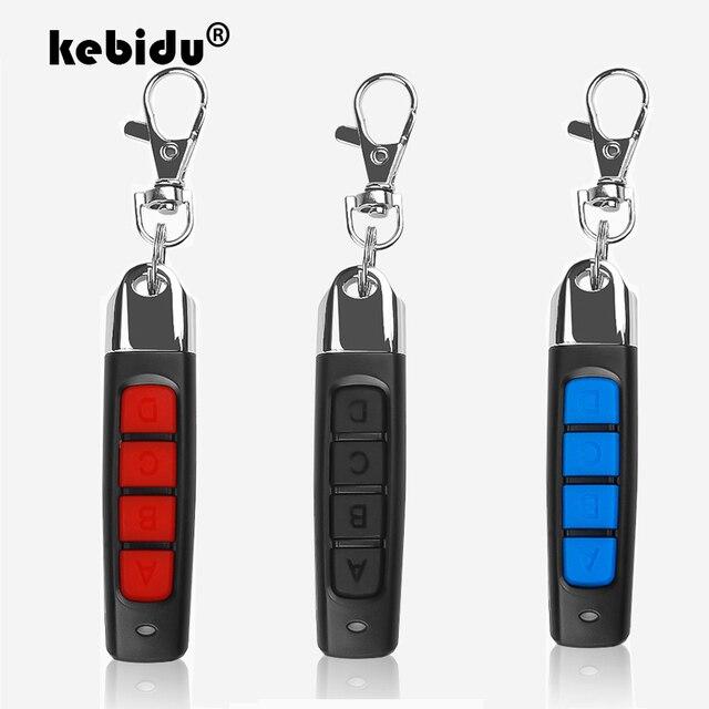 Kebidu Senza Fili 433Mhz Clonazione Telecomando di Codice della Copia Mini Telecomando 4 Canali Clonazione Porta Del Garage Cancello Elettrico Auto