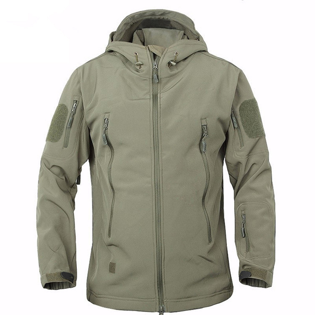 2018 TAD Winter Shark Skin Military Windproof Tactical Softshell Jacket Men  Waterproof Army soft shell Coat Windbreaker Rain 86dfc83e9e9