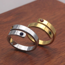 Personality Couple Ring 2019 New Listing Open Rings Jewelry Can Custom Made Name YP6865