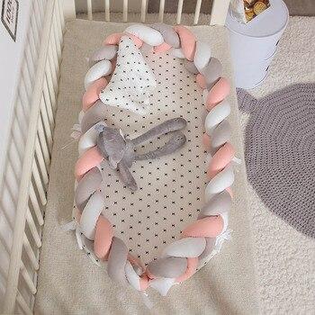 braided cotton baby nest