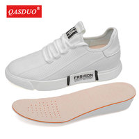 New Casual Mesh sneakers Elevator shoes Breathable height incresing shoes With Getting 8CM Tall Male Outdoor Leisure Shoes