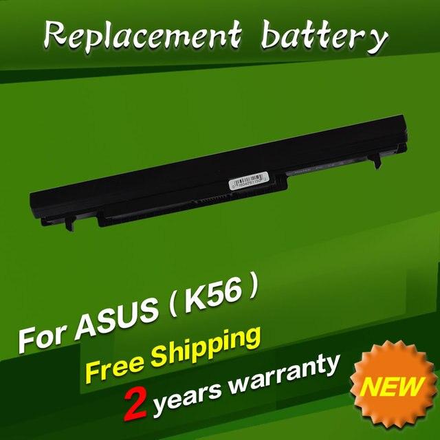 Laptop Battery for Asus A32-K56 A41-K56 K46 K46CA K46CM K56 K56CA K56CM K46CM K56C K56CM K56CA 2600mah 14.8