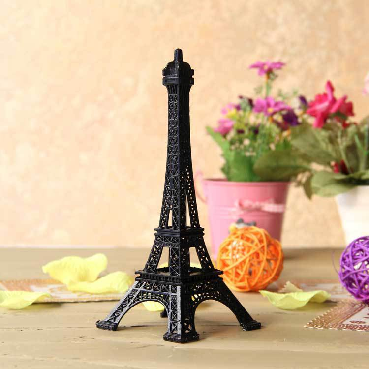 25cm High Quality Custom Metal Eiffel Tower Paris