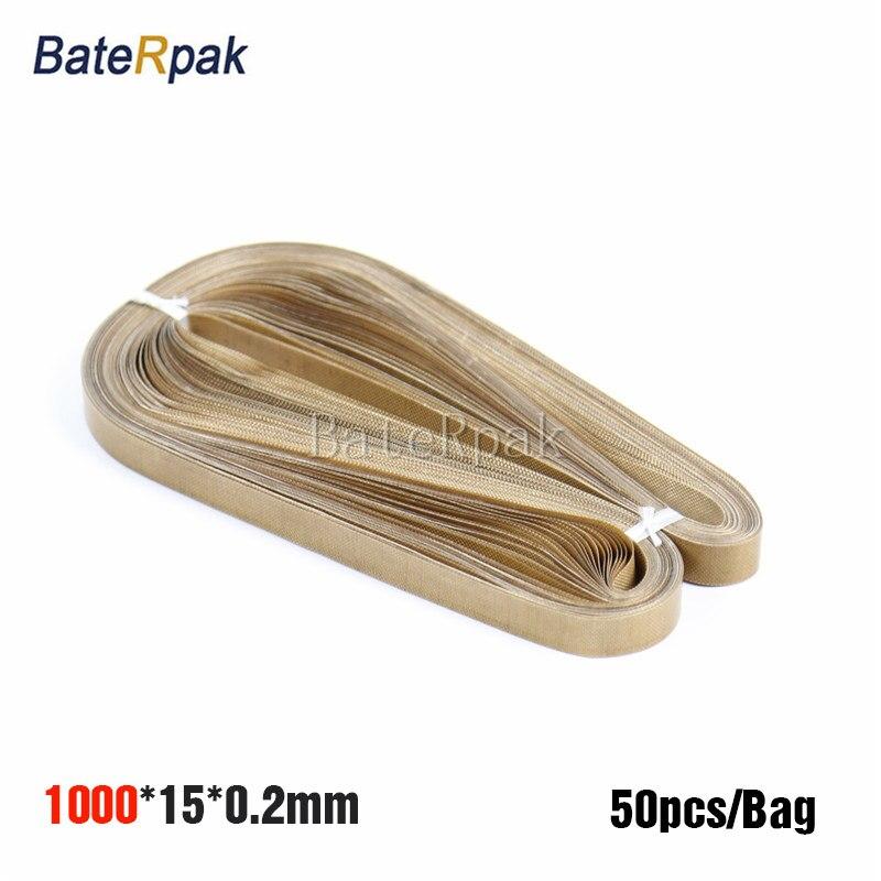 ФОТО 1000*15*0.2mm continous Band sealer teflon belt,BateRpak seamless ring tape FRD-1000 band sealer parts 50pcs/bag