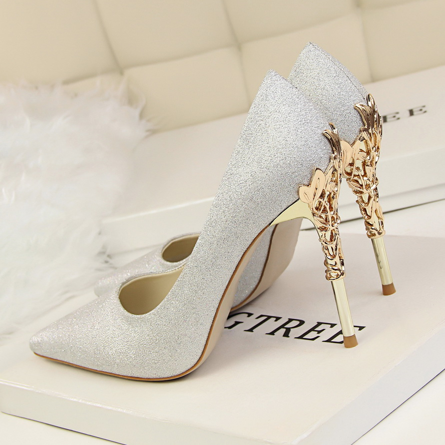high heels silver (5)