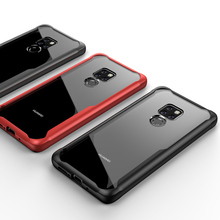 Case For Huawei Mate 20 Pro Lite TPU Bumper Airbag Transparent Shockproof Fitted Cover Anti-knock Soft Protective Phone