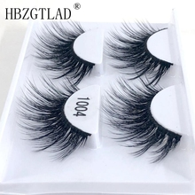 US $0.64 20% OFF|HBZGTLAD 1/ 2 pairs natural false eyelashes fake lashes long makeup 3d mink lashes eyelash extension mink eyelashes for beauty-in False Eyelashes from Beauty & Health on Aliexpress.com | Alibaba Group