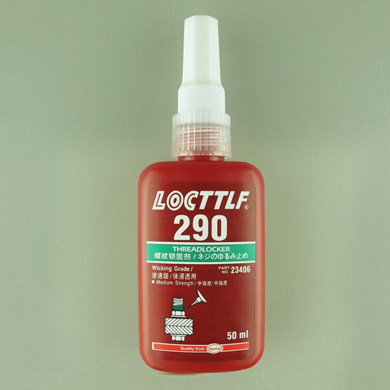 50ML Cylindrical Retainer Locking Adhesive Metal Screw Anaerobic Adhesive Thermal Strength Environment Glue 262/271/272/290