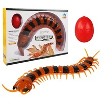 Gags Practical Toy Electronic remote Control Fake Snake Toys creeping and spoofing scary Electric Cobra RC toys Centipede