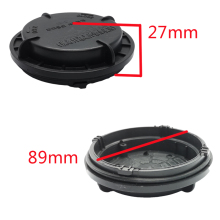 1 piece led dust cover caps hid Sealing headlight Extension cap  Heightening rear for Outlander