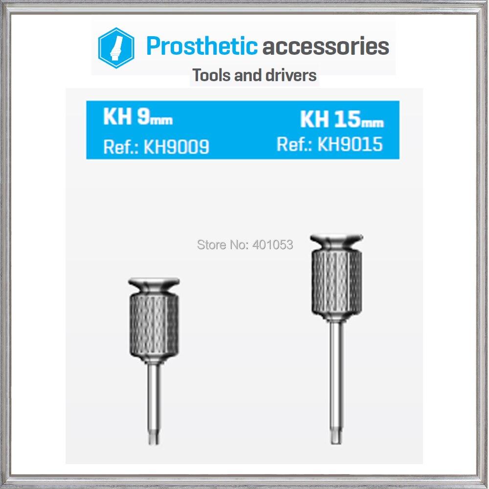 Tournevis hexagonal à main pour équipement dentaire pour butée longue de 15mm ou courte de 9mm-BIO-EFFECT, pilote de qualité haut de gamme, matériau en titane