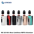 Original Wismec Reuleaux RX2/3 Box Mod Updated RX200 18650 Box Mod Fit with IJOY Limitless RDTA Classic Edition Tank