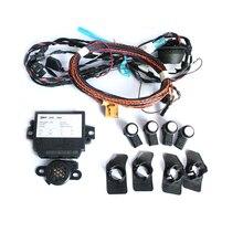 OPS 4 K Parque Piloto trasero 4 Sensores que Parquea Kit Para El Nuevo Polo 6R PQ25 6R0 919 475