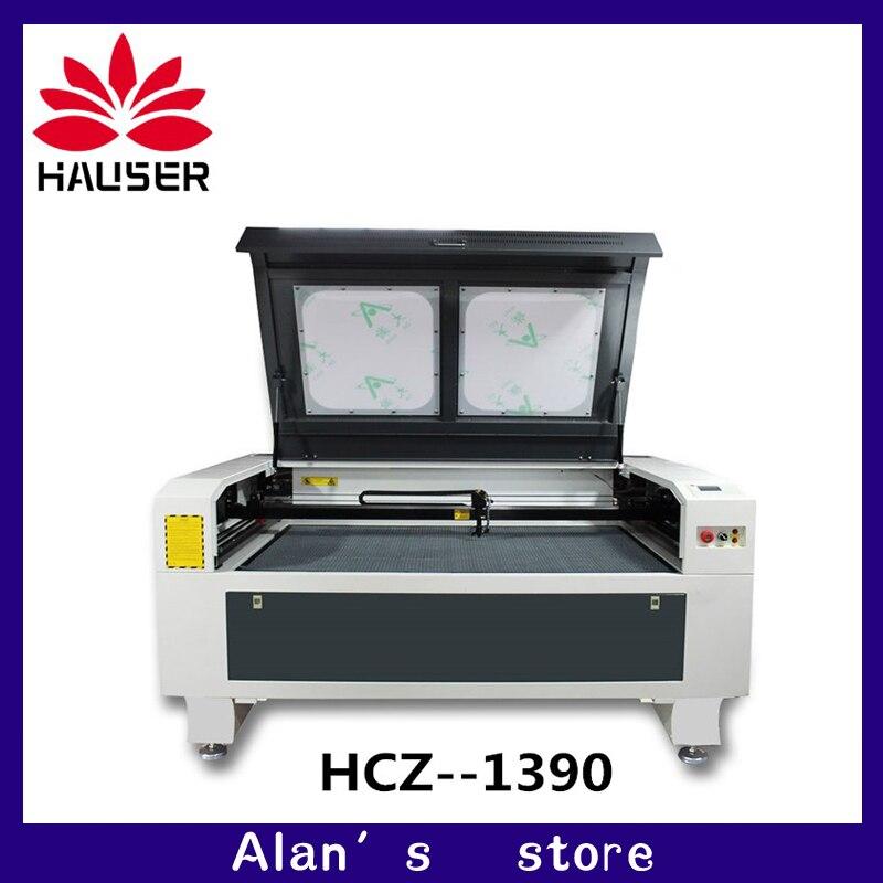 1390 laser co2 100 w haute puissance laser machine de gravure, machine de découpe laser, machine de marquage laser, taille de travail 1300*900mm
