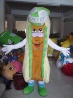 Банан Форма хот дог маскарадный костюм характер Прохладный шляпа костюмы банан