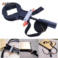 Multifunction Blet Clamp Woodworking Quick Adjustable Band Clamp Polygonal Clip 90 Degrees Right Angle Corner Photo